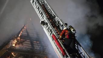 Viel zu tun für Feuerwehrleute (Symbolbild)