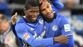 Nicht mehr Teamkollegen bei Schalke: Breel Embolo (links) und Eric-Maxim Choupo-Moting