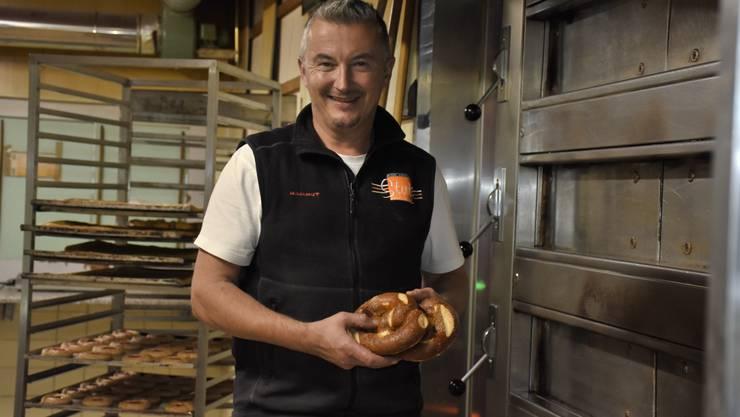 Urs Stutz übernahm vor 20 Jahren als jüngstes von fünf Kindern die Bäckerei-Konditorei von seinem Vater.