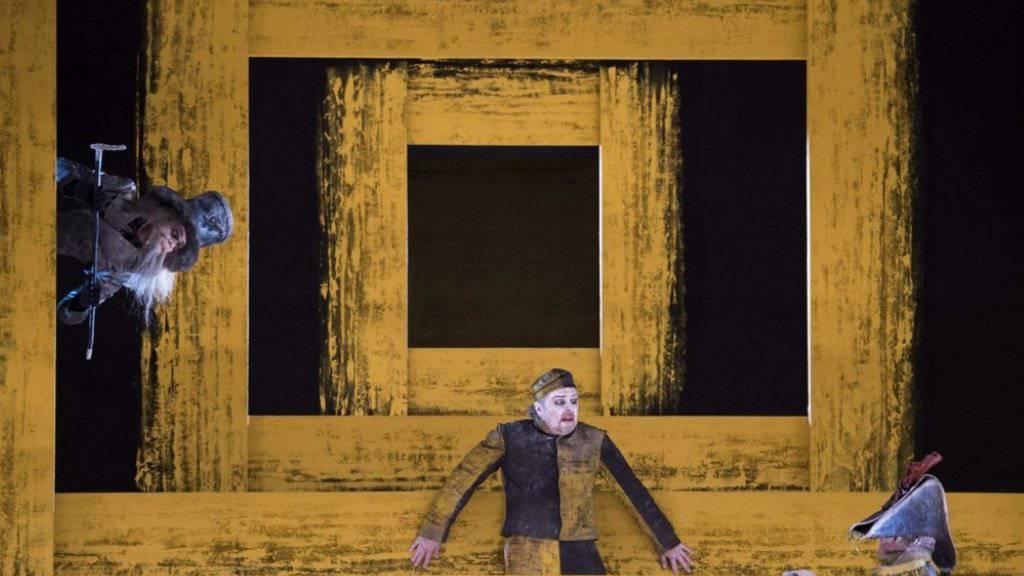 Alban Bergs «Wozzek» im Opernhaus Zürich setzt die Latte(n) hoch (Pressebild Opernhaus)