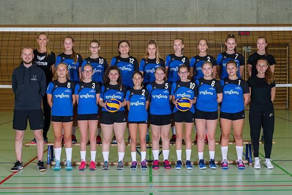 Die U17-Damen von Volley Möhlin werden gegen BTV Aarau um einen Platz an der SM Jugend kämpfen.