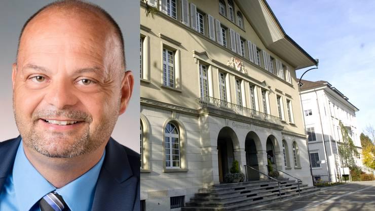 Daniel Kaufmann, der neur Finanzverwalter.