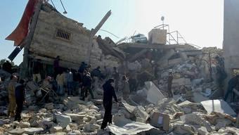 In Syrien sind schon zahlreiche Gesundheitseinrichtungen bombardiert worden. (Archivbild)