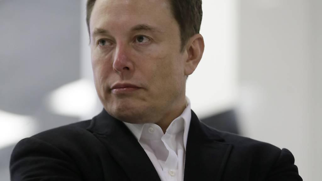"""""""Gehe offline"""": Tesla-Chef Elon Musk will nicht mehr über den Kurznachrichtendienst Twitter kommunizieren. (Archivbild)"""