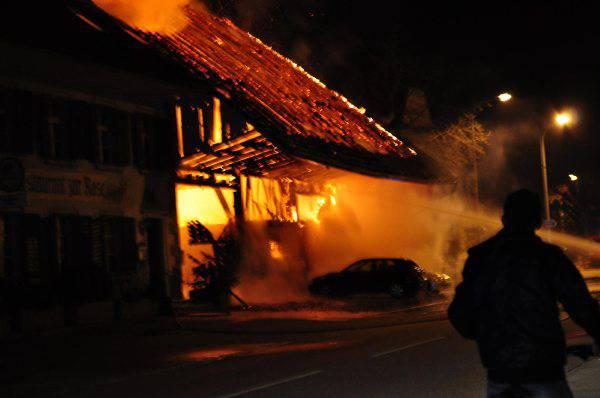 Grossbrand in Kappel