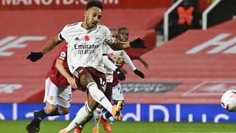 Pierre-Emerick Aubameyang schiesst Arsenal mittels Foulpenalty zum lang ersehnten Sieg im Old Trafford