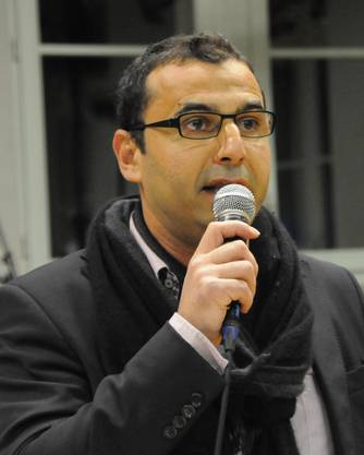 Silvano Lombardo, Präsident ad interim  begrüsste die  Gäste