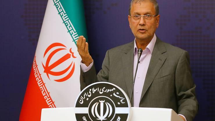 Der iranische Regierungssprecher erklärt die Sicht der Regierung in Teheran: Demnach wurden die Fakten zum Abschuss eines ukrainischen Passagierflugzeugs nicht vertuscht. (Archivbild)