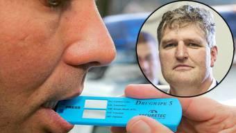 SVP-Kantonsrat Josef Fluri fordert, dass der Regierungsrat die Genauigkeit der Drogenschnelltests überprüft.