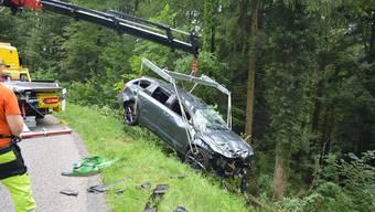 Unfall in Seewen (22. Juni 2019)