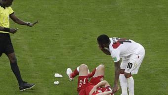 Für Dänemarks William Kvist ist die WM nach dem Auftaktspiel gegen Peru bereits wieder zu Ende