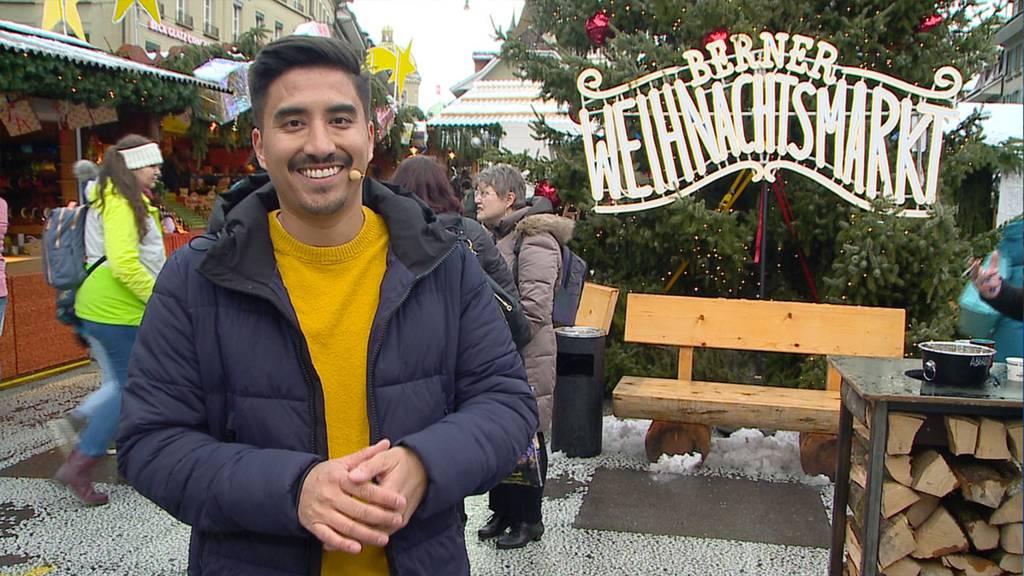 Weihnachtsmarkt Waisenhausplatz in Bern