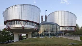 Der Europäische Gerichtshof für Menschenrechte (EGMR) in Strassburg (Archiv)