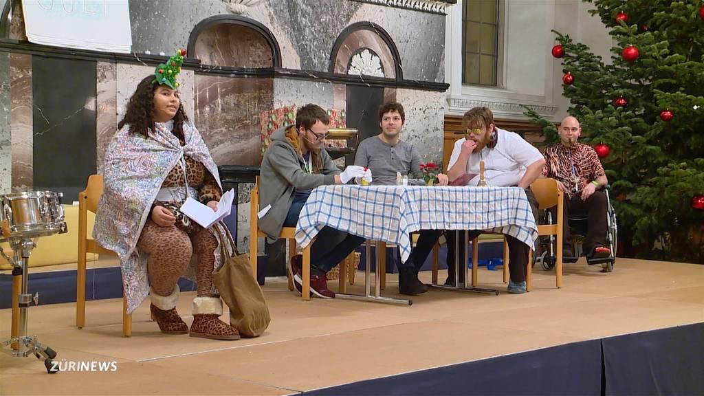 Werkheim-Bewohner verzücken mit «De chli Samichlaus»