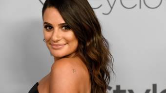 US-Schauspielerin Lea Michele hat sich Ende April 2018 verlobt. (Archiv)