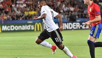 Von den Bayern geholt und nun an Hoffenheim ausgeliehen: U21-Europameister Serge Gnabry