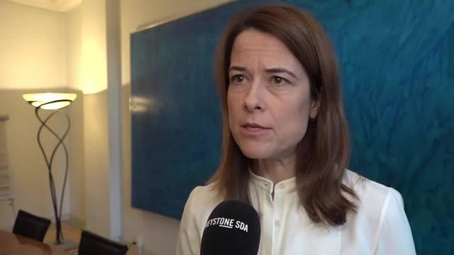 Petra Gössi fordert weiterhin Maudets Rücktritt