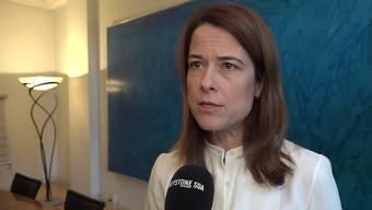 Petra Gössi fordert weiterhin Maudets Rücktritt.