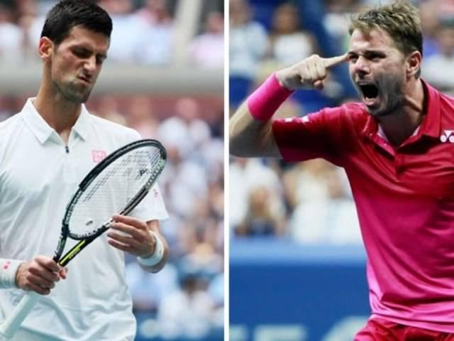 Die Highlights des Finals zwischen Stan Wawrinka und Novak Djokovic