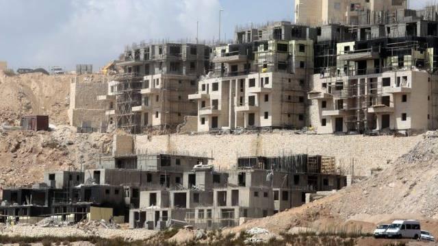 Israelische Siedlung im Westjordanland. (Archiv)