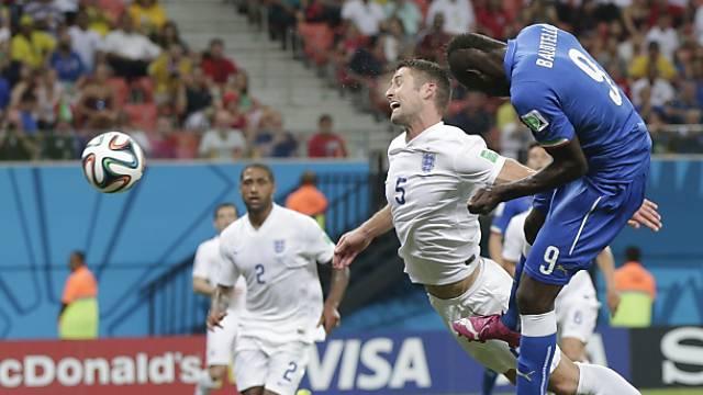 Mario Balotelli köpfelte das 2:1 für Italien