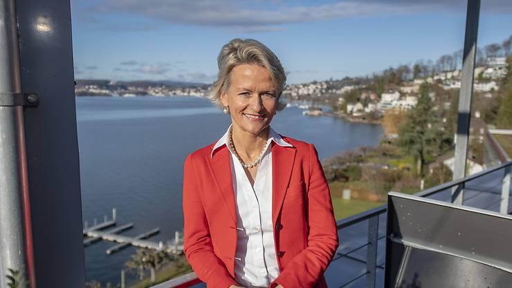 Neu gewählte Präsidentin der Mitte-Fraktion: Die Luzerner CVP-Ständerätin Andrea Gmür.