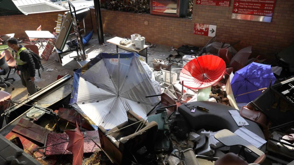 Polizei beendet Einsatz auf besetztem Universitätscampus