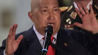 Kündigt weitere Verstaatlichungen an: Venezuelas Präsident Hugo Chavez