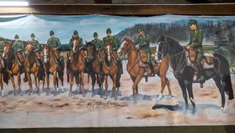 Schweizer Kavallerie Schwadron 1972