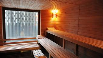In einem Einfamilienhaus in Widen brannte eine Sauna ab (Symbolbild).