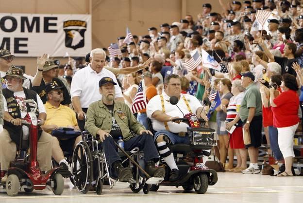 US-Veteranen vom Vietnamkrieg an einer Feier im Jahr 2009