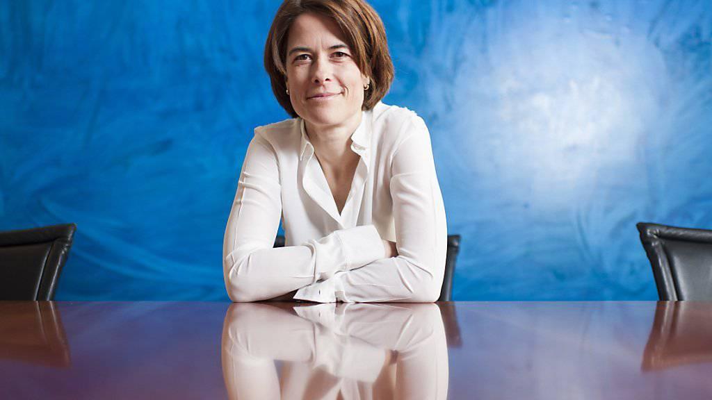 Die Schwyzer Nationalrätin Petra Gössi wird im April aller Voraussicht nach zur Nachfolgerin von FDP-Präsident Philipp Müller gewählt.