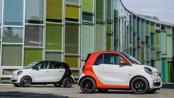 Smart forfour und fortwo