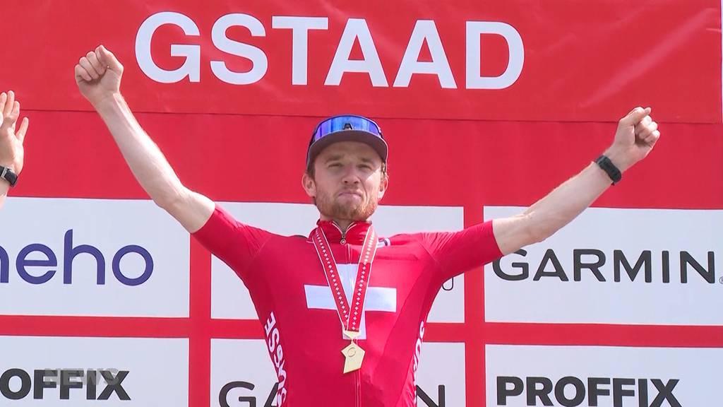 Swiss Bike Cup in Gstaad: Oberaargauer Mathias Flückiger entthront Nino Schurter