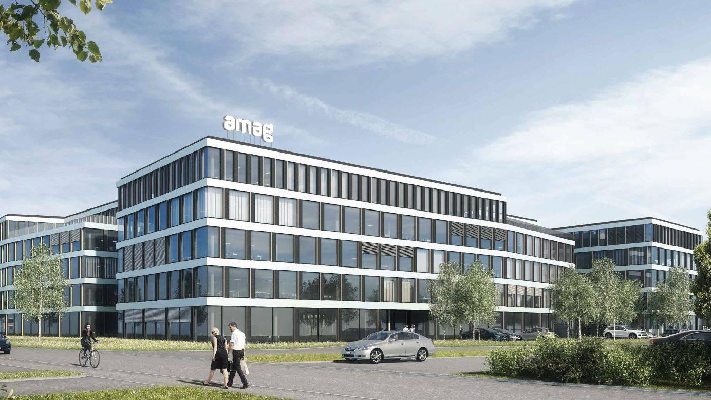 AMAG baut neuen Konzern-Sitz in Cham