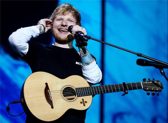 Ed Sheeran hat mit «I Don't Care» und «Beautiful People» zwei Hits in den Charts.