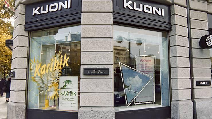Laut Kuoni-Schweiz-Chef Marcel Bürgin profitieren die Schweizer Kuoni-Reisebüros vom Verkauf an Rewe. (Archiv)