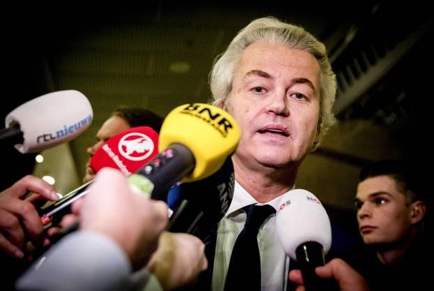 Wilders gratulierte Ministerpräsident Mark Rutte, dessen Partei trotz Verlusten am besten abschnitt.