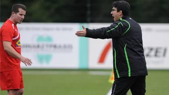 Ergün Ercedogan (r.) und sein Bruder verlassen den FC Bubendorf.