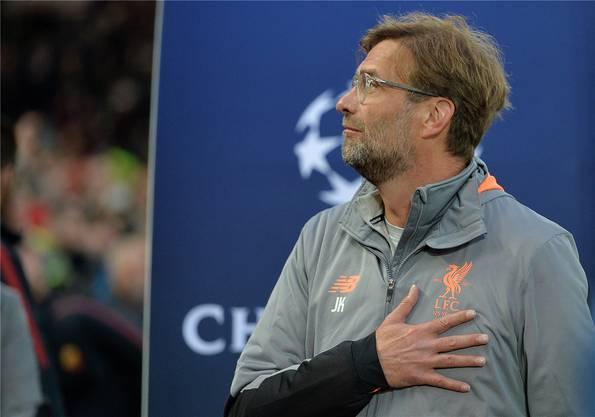 Muss sich vor dem heutigen Champions-League-Rückspiel in Rom mit personellen Turbulenzen auseinandersetzen: Liverpool-Trainer Jürgen Klopp.