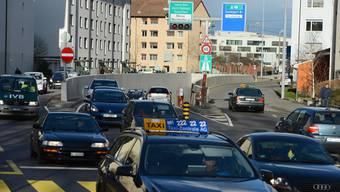 Eine Variante: Der Zubringer zum Allschwiler Bachgraben-Gebiet könnte beim Luzernerring in Basel an die Nordtangente anknüpfen.