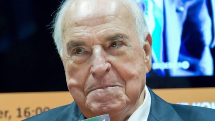 Altkanzler Helmut Kohl (85) geht es besser, aber noch nicht gut (Archiv 2014).