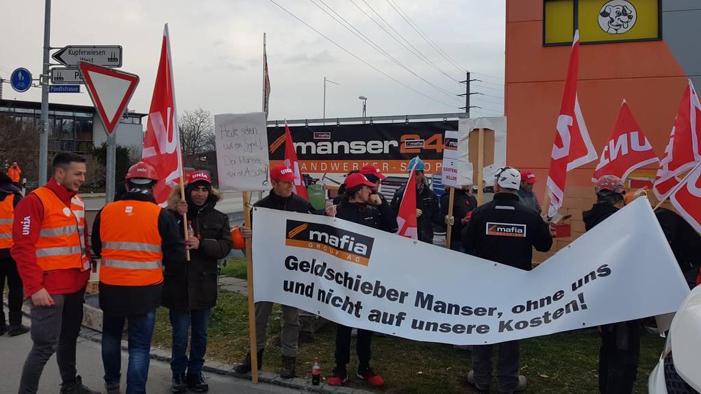 Marty-Mitarbeiter im Protest: «Wir sind dem Chef scheissegal»