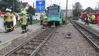 Ein Kind geriet am Dienstagmittag unter ein 14er-Tram.