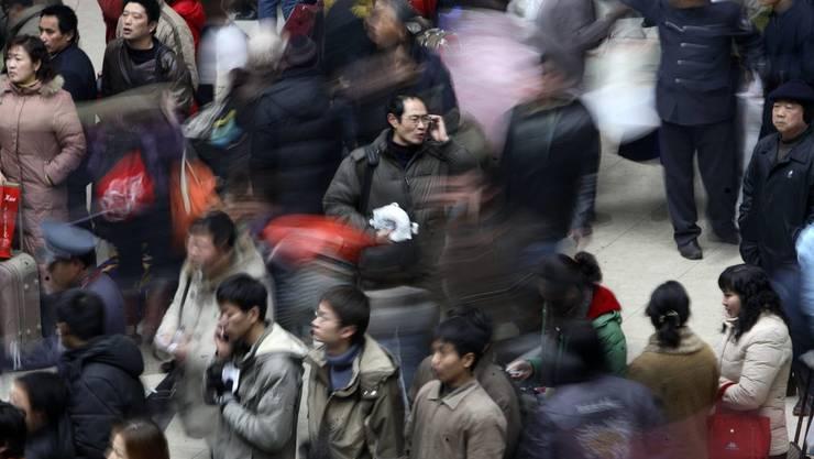 Die Ferienwoche der chinesischen Bevölkerung wurde um drei Tage verlängert.