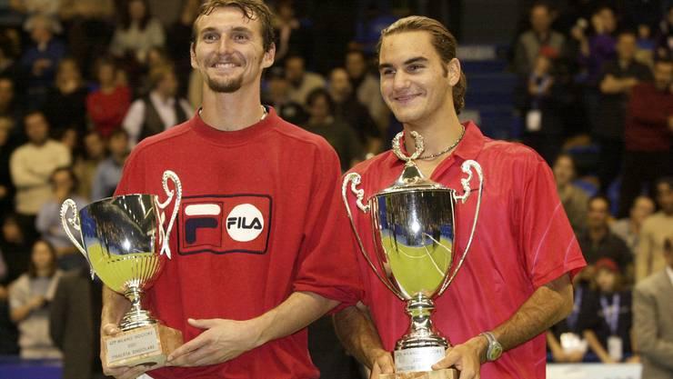 4. Februar 2001: Roger Federer gewinnt in Mailand den ersten von nun 100 Profititeln.