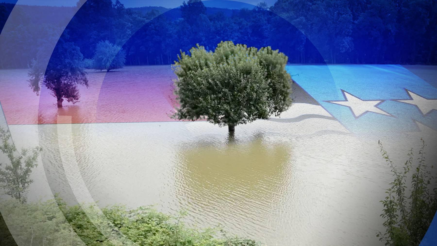 Hochwasser-Sendegebiet