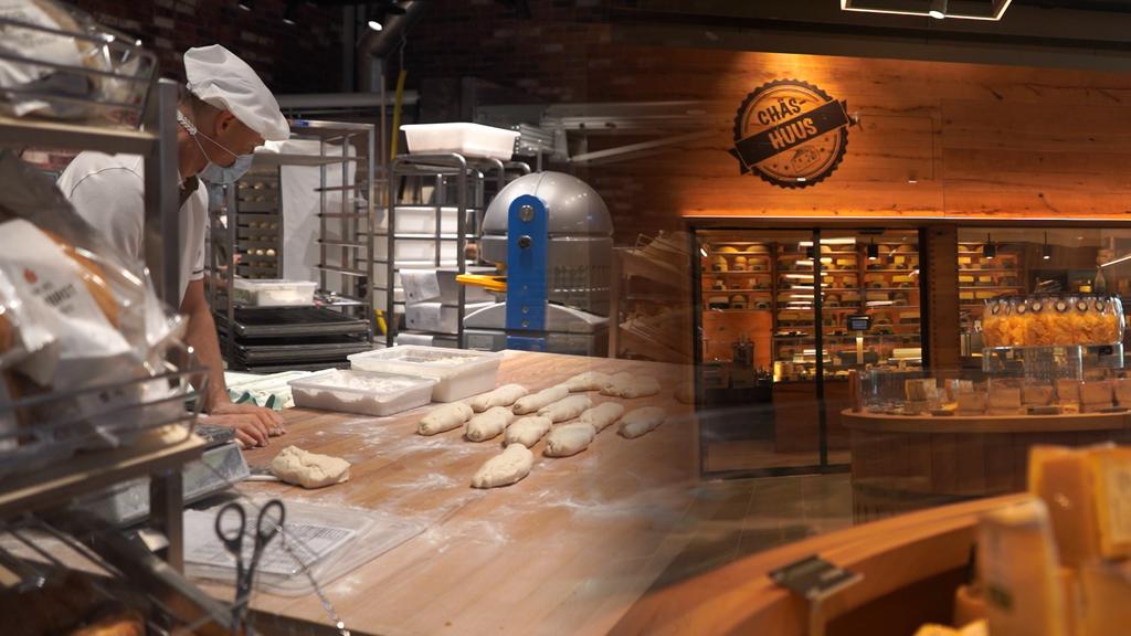 «Chäs-Hüsli» und offene Bäckerei: So sieht es im neuen Coop-Megastore aus