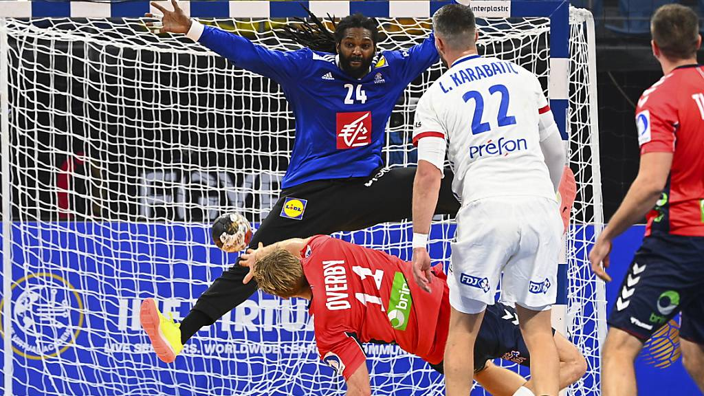 Frankreich besiegt Norwegen