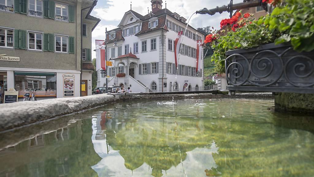 Das Regierungsgebäude in Sarnen: Der Kanton Obwalden besitzt 61 Immobilien. (Archivbild)